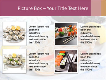 Fresh Oysters PowerPoint Templates - Slide 14
