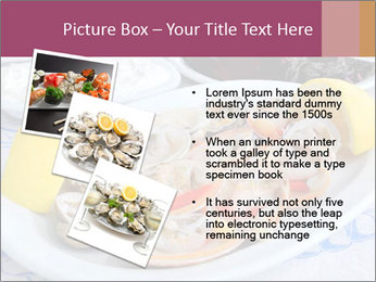 Fresh Oysters PowerPoint Templates - Slide 17