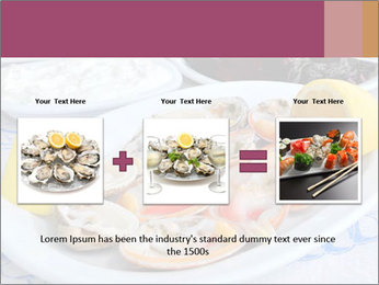 Fresh Oysters PowerPoint Templates - Slide 22