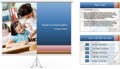 Primary School PowerPoint Template