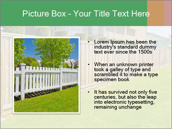 Huge Yard PowerPoint Template - Slide 13