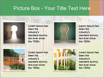 Huge Yard PowerPoint Template - Slide 14