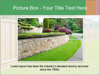Huge Yard PowerPoint Template - Slide 16