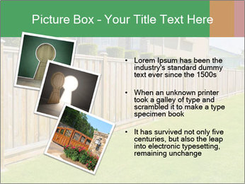 Huge Yard PowerPoint Template - Slide 17