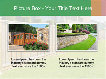 Huge Yard PowerPoint Template - Slide 18