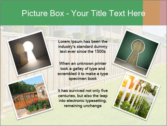 Huge Yard PowerPoint Template - Slide 24