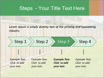 Huge Yard PowerPoint Template - Slide 4