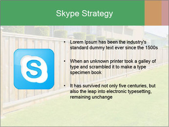 Huge Yard PowerPoint Template - Slide 8