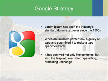 White Cottage PowerPoint Template - Slide 10