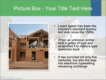 White Cottage PowerPoint Template - Slide 13