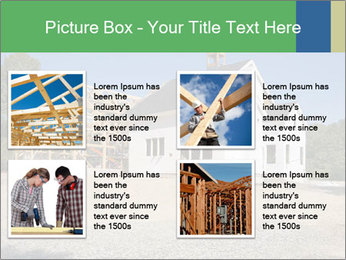 White Cottage PowerPoint Template - Slide 14