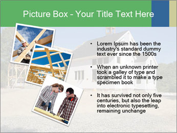 White Cottage PowerPoint Template - Slide 17