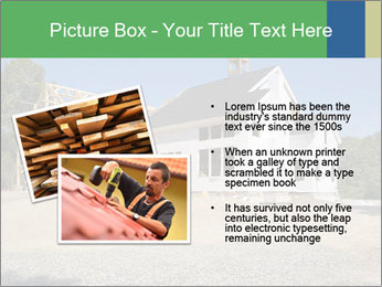 White Cottage PowerPoint Template - Slide 20