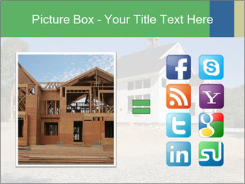 White Cottage PowerPoint Template - Slide 21