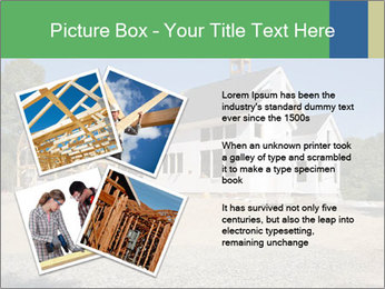 White Cottage PowerPoint Template - Slide 23