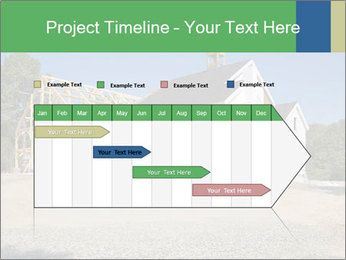 White Cottage PowerPoint Template - Slide 25