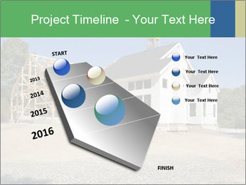 White Cottage PowerPoint Template - Slide 26