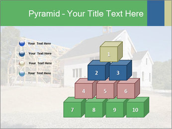 White Cottage PowerPoint Template - Slide 31