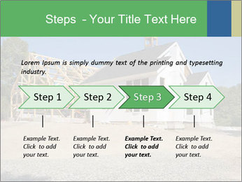 White Cottage PowerPoint Template - Slide 4