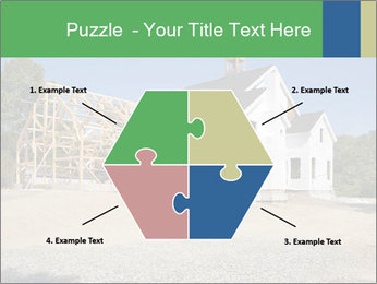 White Cottage PowerPoint Template - Slide 40