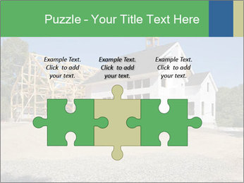 White Cottage PowerPoint Template - Slide 42