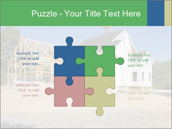 White Cottage PowerPoint Template - Slide 43