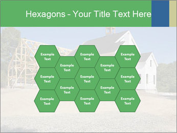 White Cottage PowerPoint Template - Slide 44