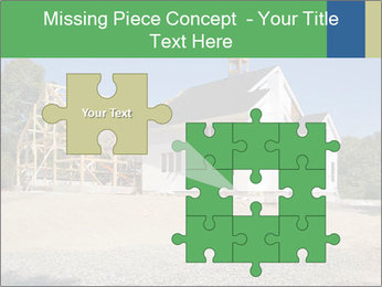 White Cottage PowerPoint Template - Slide 45