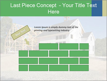 White Cottage PowerPoint Template - Slide 46