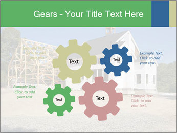 White Cottage PowerPoint Template - Slide 47