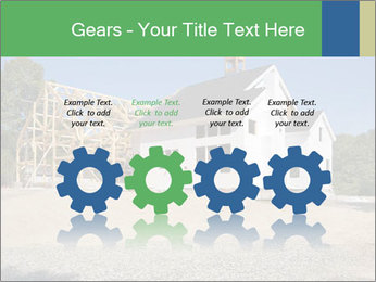 White Cottage PowerPoint Template - Slide 48
