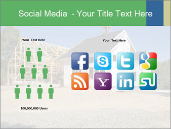 White Cottage PowerPoint Template - Slide 5