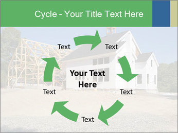 White Cottage PowerPoint Template - Slide 62