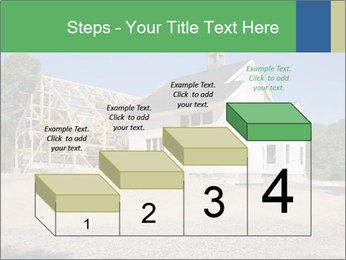 White Cottage PowerPoint Template - Slide 64