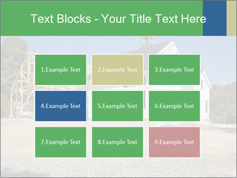 White Cottage PowerPoint Template - Slide 68