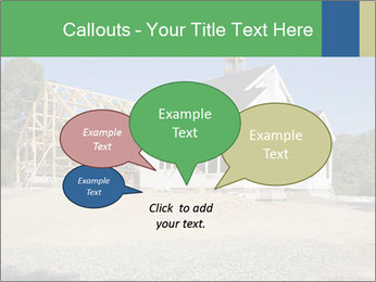 White Cottage PowerPoint Template - Slide 73