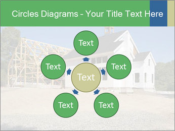 White Cottage PowerPoint Template - Slide 78