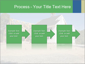 White Cottage PowerPoint Template - Slide 88