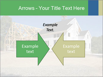 White Cottage PowerPoint Template - Slide 90