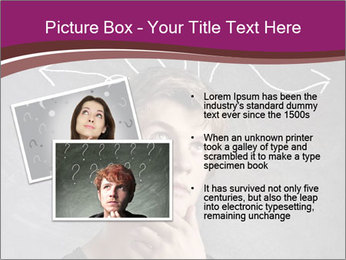 Doubting Young Man PowerPoint Templates - Slide 20