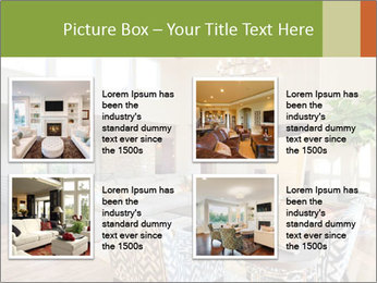 Cozy Livingroom PowerPoint Template - Slide 14