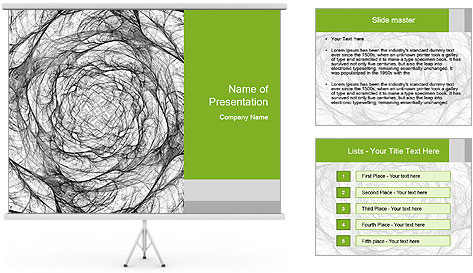 Paper Rose PowerPoint Template