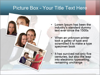 Competition Between Businesspeople PowerPoint Templates - Slide 17