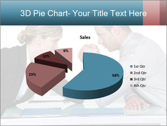 Competition Between Businesspeople PowerPoint Template - Slide 35