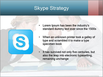 Competition Between Businesspeople PowerPoint Template - Slide 8