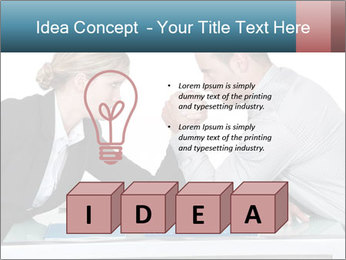 Competition Between Businesspeople PowerPoint Template - Slide 80