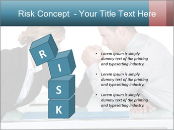 Competition Between Businesspeople PowerPoint Template - Slide 81