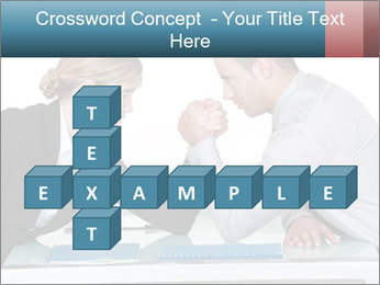 Competition Between Businesspeople PowerPoint Template - Slide 82