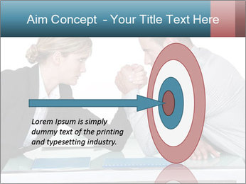 Competition Between Businesspeople PowerPoint Template - Slide 83