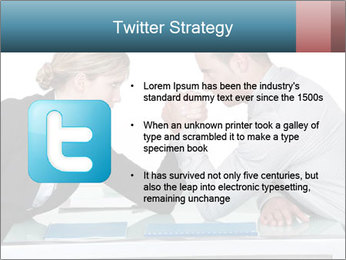 Competition Between Businesspeople PowerPoint Template - Slide 9